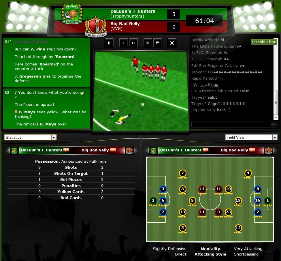 ★ لعبة كرة القدم أونلاين الأولي عالميآ ( كأس المدير ) ★ Screenshot_match2